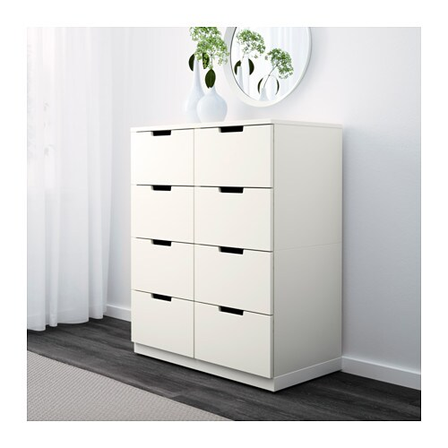 NORDLI Chest of 8 drawers IKEA Of course your home should be a safe place for the entire family.
