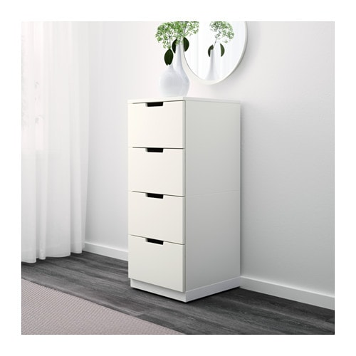 NORDLI Chest of 4 drawers IKEA Of course your home should be a safe place for the entire family.