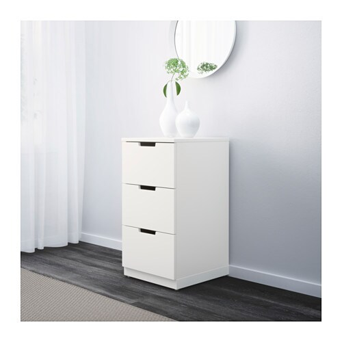 NORDLI Chest of 3 drawers IKEA Of course your home should be a safe place for the entire family.