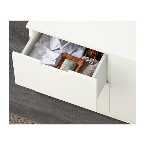 NORDLI Chest of 6 drawers IKEA You can use one modular chest of drawers or combine several to get a storage solution that perfectly suits your space.