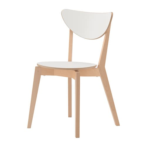 Nordmyra chair ikea - Chaise de bar blanche ...