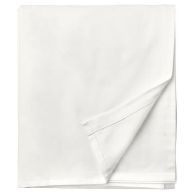 NORDRUTA Flat sheet, white, Single