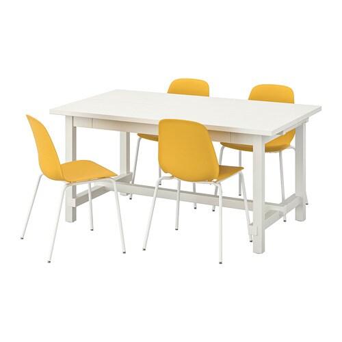NORDVIKEN LEIFARNE Table And 4 Chairs IKEA