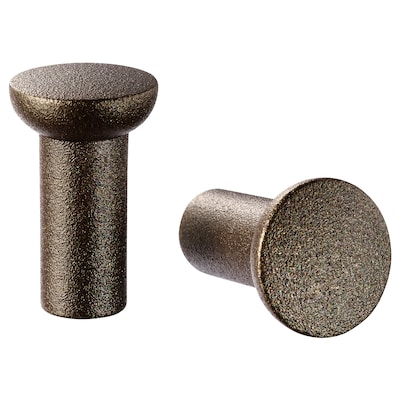 NYDALA Knob, bronze-colour, 16 mm