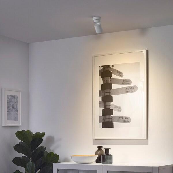 nymÅne ceiling spotlight with 1 spot white  ikea