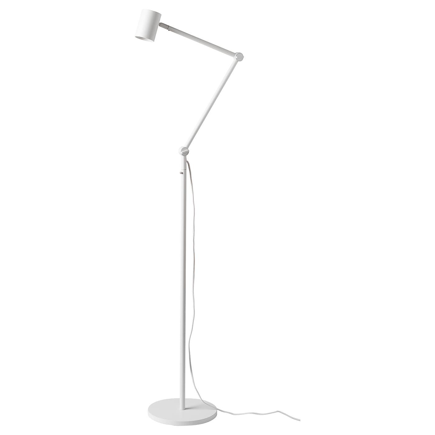 Nym 197 Ne Floor Reading Lamp White Ikea