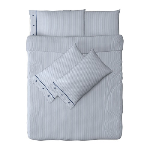 NYPONROS Quilt cover and 4 pillowcases IKEA