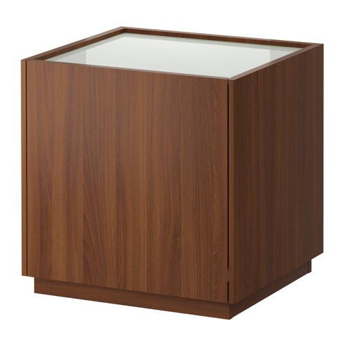 Ikea Apothekerschrank Neuwertig Walzbachtal ~ bedside table medium brown white ikea nyvoll bedside table ikea