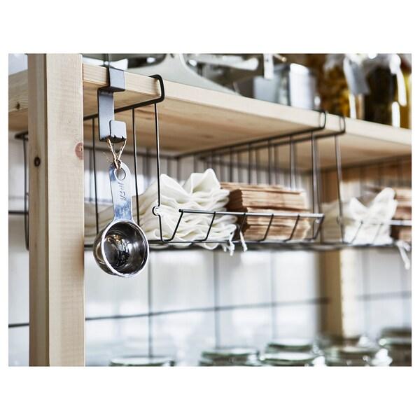 OBSERVATÖR clip-on basket grey-brown 31 cm 30 cm 18 cm