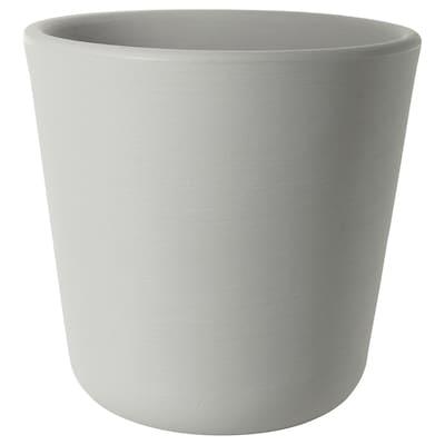 ÖSTLIG Plant pot, in/outdoor/grey, 30 cm