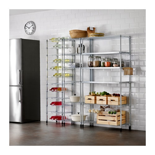 Omar 3 Shelf Sections Ikea