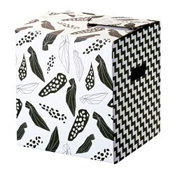 OMBYTE packaging box, white/black