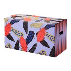 OMBYTE packaging box, blue/orange