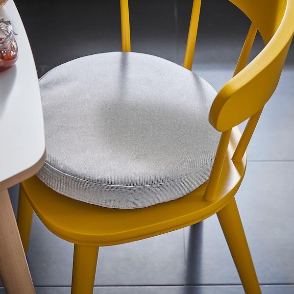OMTÄNKSAM Chair cushion, Orrsta light grey, 38 cm