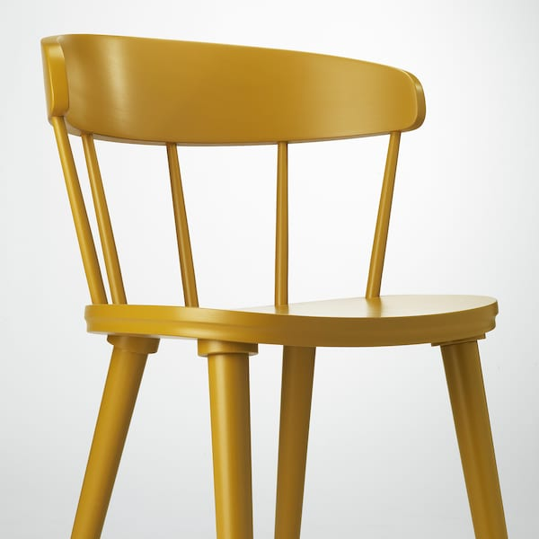OMTÄNKSAM Chair, yellow