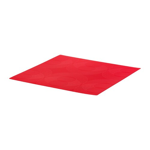 OMTYCKT Place mat IKEA Protects the table top surface and reduces noise from plates and cutlery.