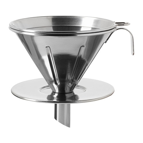 överst 3 Piece Metal Filter Coffee Set Ikea