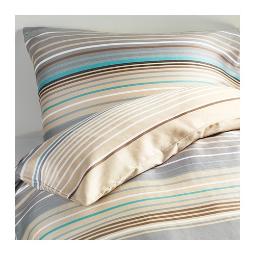 Palmlilja quilt cover and 2 pillowcases 150x200 50x80 cm for Couette king ikea