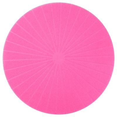 PANNÅ place mat pink 37 cm
