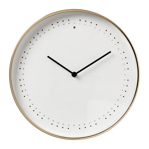 Panorera wall clock ikea for Ikea orologi