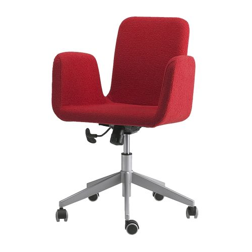 PATRIK Swivel chair IKEA Height adjustable for a comfortable sitting posture.