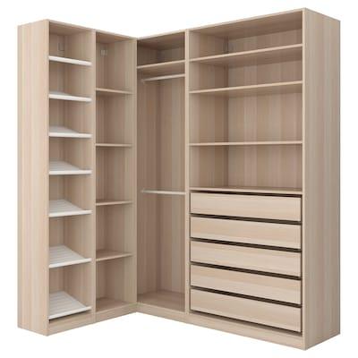 Pax Fitted Walk In And Corner Wardrobes Without Doors Ikea