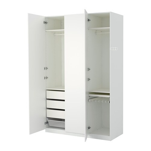 pax wardrobe 150x60x236 cm standard hinges ikea. Black Bedroom Furniture Sets. Home Design Ideas