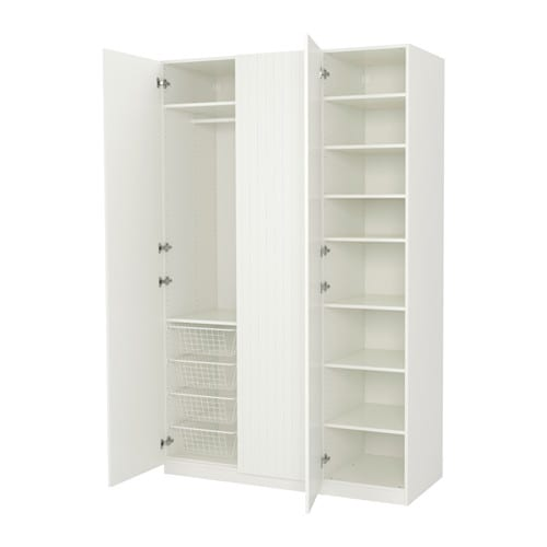 pax wardrobe 150x60x236 cm standard hinges ikea. Black Bedroom Furniture Sets. Home Design Ideas