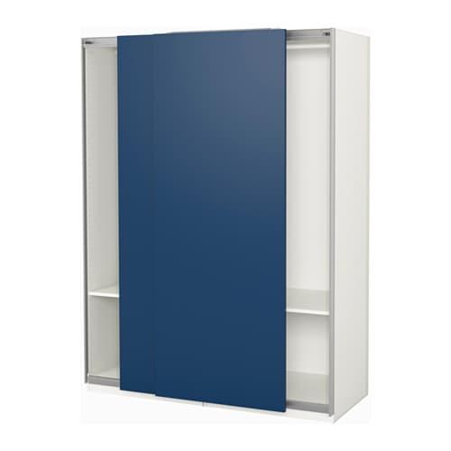 pax wardrobe 150x66x201 cm ikea. Black Bedroom Furniture Sets. Home Design Ideas