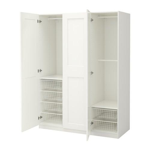 pax wardrobe 150x60x201 cm soft closing hinge ikea. Black Bedroom Furniture Sets. Home Design Ideas