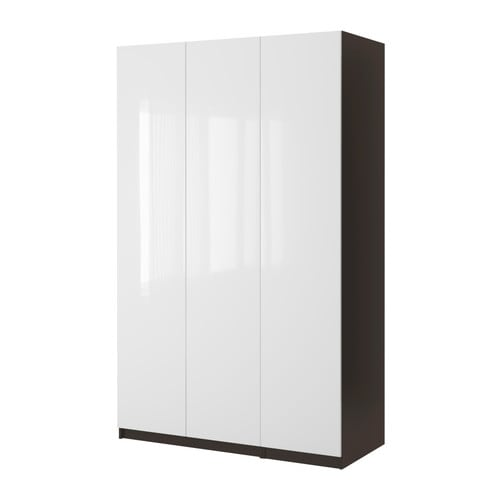PAX Wardrobe with 3 doors IKEA Dimensioned for KOMPLEMENT interior fittings; complement according to your personal needs.