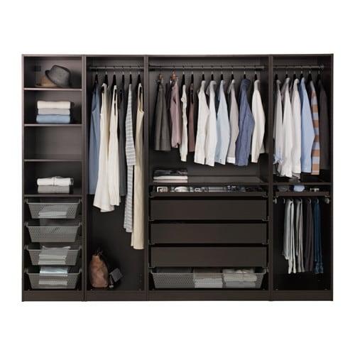 pax wardrobe 250x58x201 cm ikea. Black Bedroom Furniture Sets. Home Design Ideas