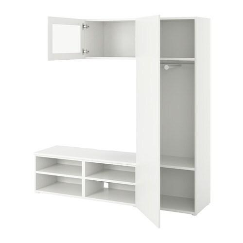 Platsa media storage combination ikea - Modular bedroom furniture systems ...