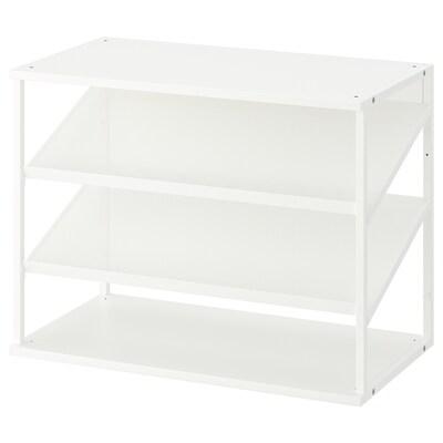 PLATSA open shoe storage unit white 40 cm 80 cm 60 cm