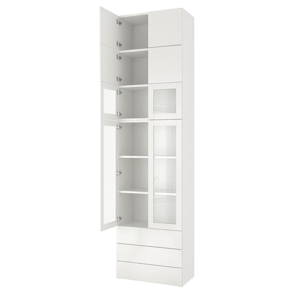 PLATSA Storage combination, 80x42x301 cm