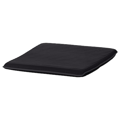 POÄNG Footstool cushion, Knisa black, 55x59 cm