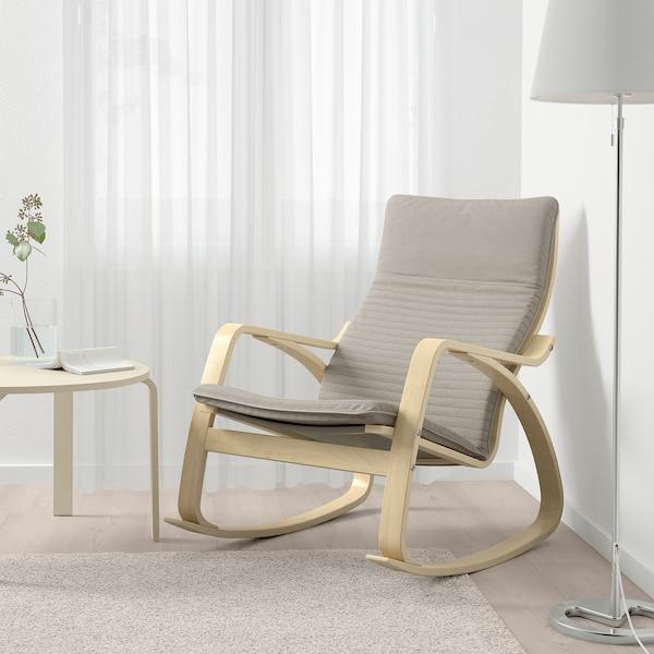 PoÄng Rocking Chair Knisa Light Beige
