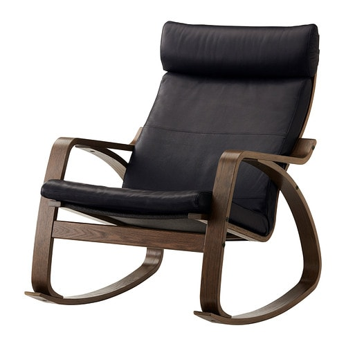 POÄNG Rocking-chair IKEA The frame is made of layer-glued bent oak which is a very strong and durable material.