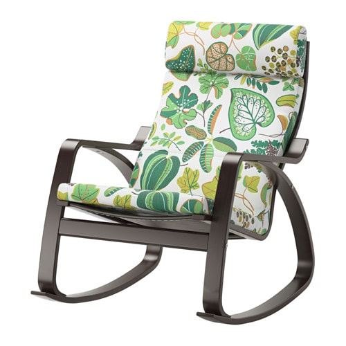 Po ng rocking chair simmarp green ikea - Chaise rocking chair ikea ...