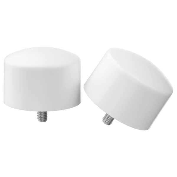 RAFFIG Finials, 1 pair, white