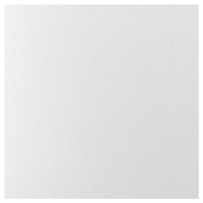 RÅHULT Custom made wall panel, white mineral effect/quartz, 1 m²x1.2 cm