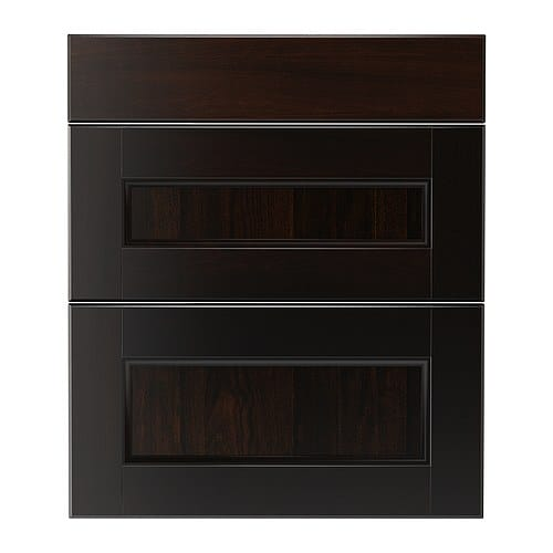 RAMSJÖ Drawer front, set of 3 IKEA