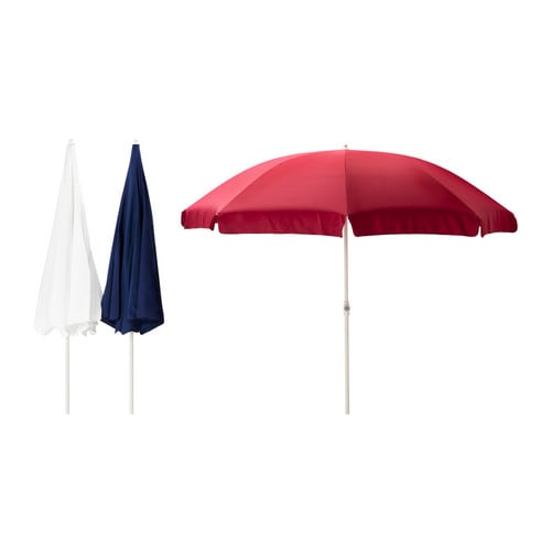 RAMSÖ Parasol IKEA Good UV-protection; the fabric blocks at least 93% of the ultraviolet radiation.
