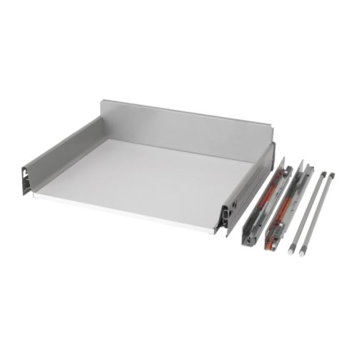 RATIONELL Deep fully-extending drawer+damper IKEA