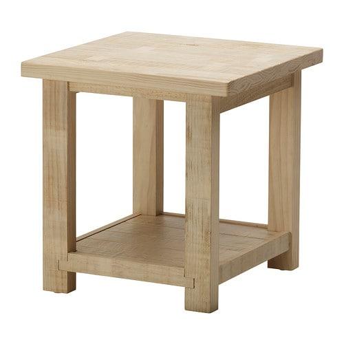 Rekarne side table ikea for Beistelltisch 55x55