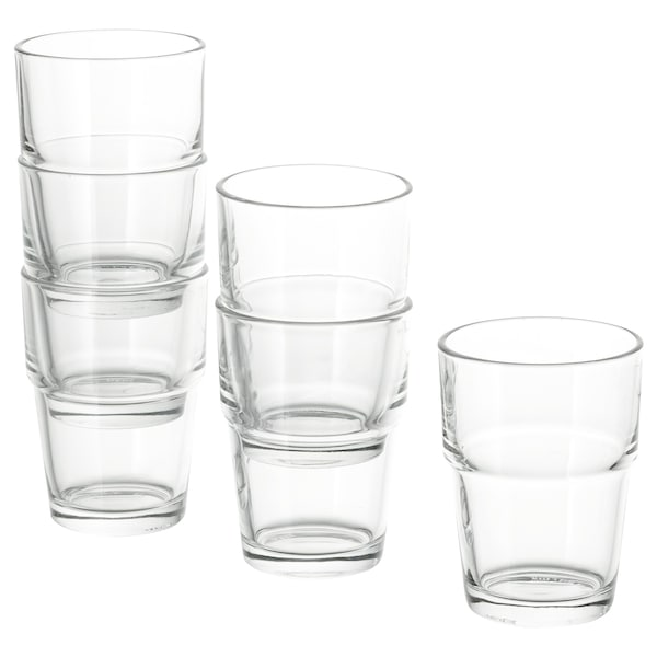 REKO Glass, clear glass, 17 cl