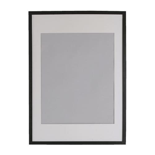 RIBBA Frame, black - black - 61x91 cm - IKEA