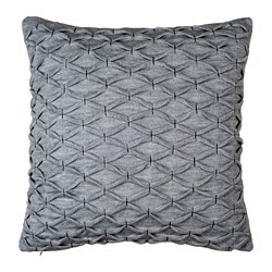 RIDDARFJÄRIL cushion cover, grey