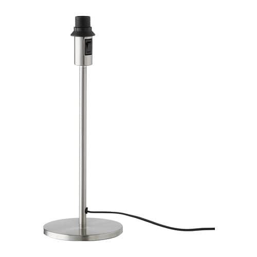 Table Rodd Plated Rodd Table Rodd Lamp Table BaseNickel Lamp BaseNickel Plated shrQtd