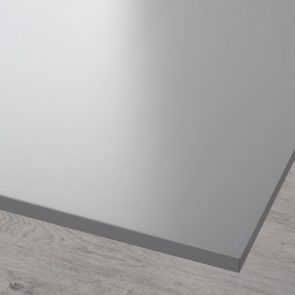 RODULF Table top, grey, 140x80 cm